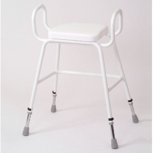 Wren Perching Stool with Arms