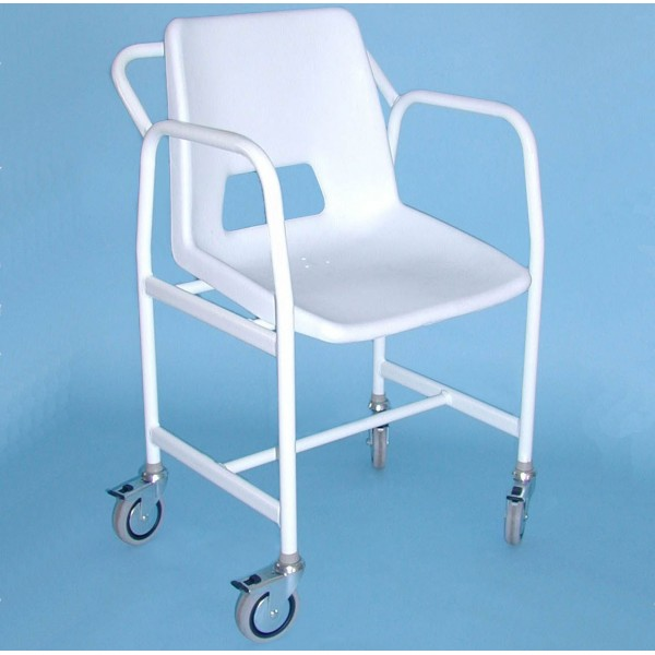 Heron Shower Chair With Castors Asm Medicare