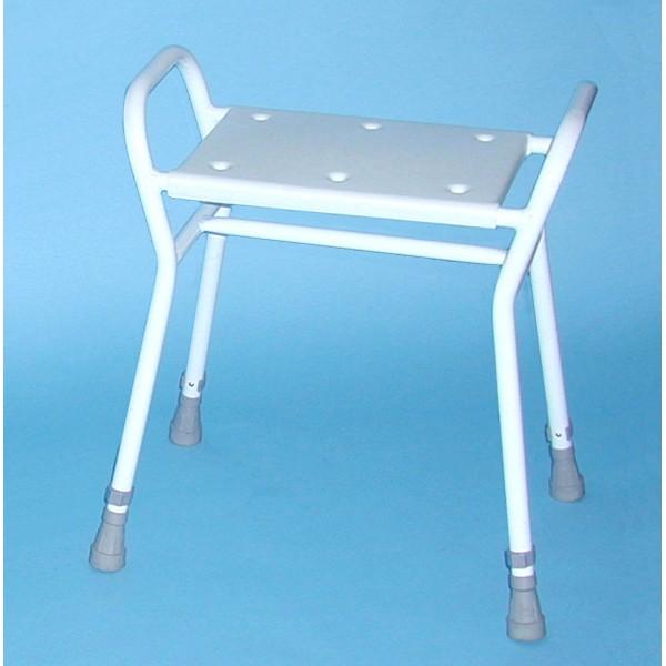 Carlton shower stool plastic top asm medicare - Witte plastic stoel ...